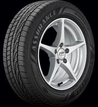 Goodyear Assurance WeatherReady Tire 235/45R17