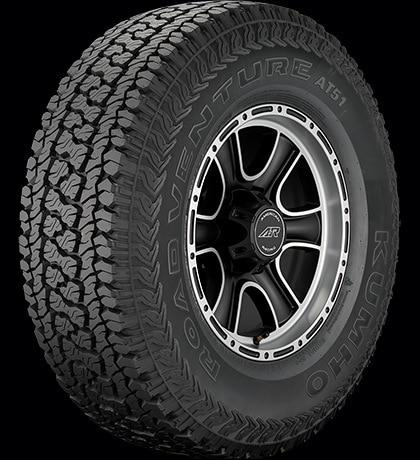 Kumho Road Venture AT51 Tire LT245/70R17