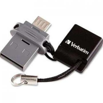 Verbatim 64GB Store N Go Dual USB Flash Drive for Otg Devices