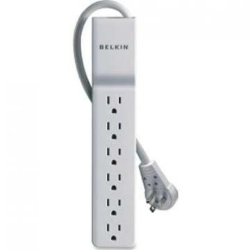 Belkin 6-Outlet Surge Protector Rotating Plug, 8 ft. Cord