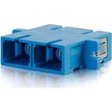 C2G SC/SC Duplex Single-mode Fiber Optic Coupler