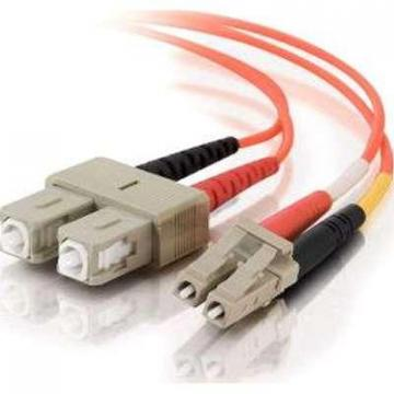 C2G 1m LC-SC 62.5/125 OM1 Duplex Multimode Fiber Optic Cable-Plenum