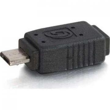 C2G USB 2.0 Mini-b Female to Micro-USB B Male Adapter