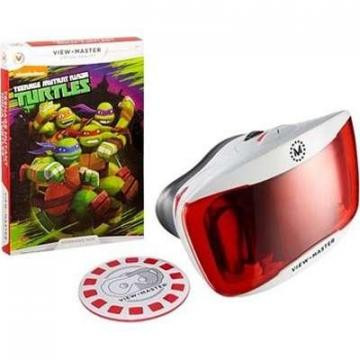 Mattel View-Master Deluxe VR Viewer with  Teenage Mutant Ninja Turtles Experience Pack