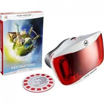 Mattel View-Master Deluxe VR Viewer with  Experience Pack: Destinations
