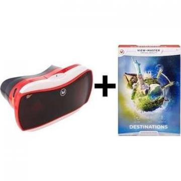 Mattel View-Master Virtual Reality Starter Pack with  Experience Pack: Destinations