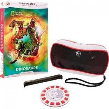 Mattel View-Master Virtual Reality Starter with  Exp Pack NAT GEO Dinosaurs