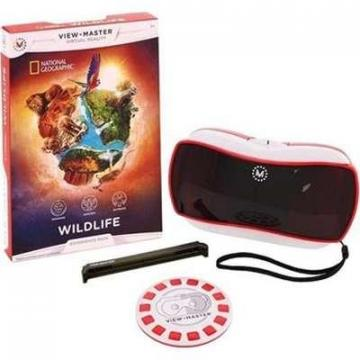 Mattel View-Master Virtual Reality Starter Pack with  NAT GEO Wildlife