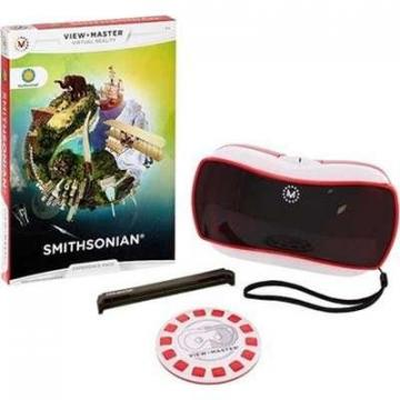 Mattel View-Master Virtual Reality Starter Pack with  Exp Pack Smithsonian
