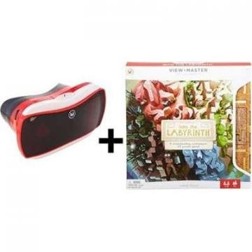 Mattel View-Master Virtual Reality Starter Pack with  Into The Labyrinth