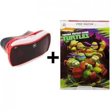 Mattel View-Master Virtual Reality Starter Pack with  Teenage Ninja Turtles