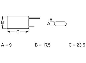 Samxon Double-layer capacitor, 1.5 F, 5 V, ±20%