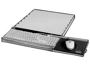apra 20-2870-00, keyboard tray with keyboard