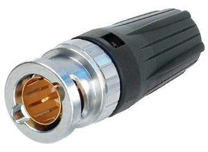 Neutrik Coaxial plug for HDTV, BNC, 75 Ω (75R), Straight