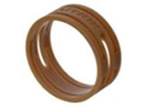 Neutrik Coloured ring, brown, Grilon BG-15 S