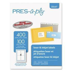 PRES-a-ply 30641 Labels