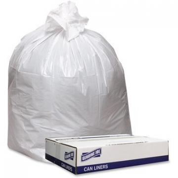 Genuine Joe 3339W Extra Heavy-duty White Trash Can Liners