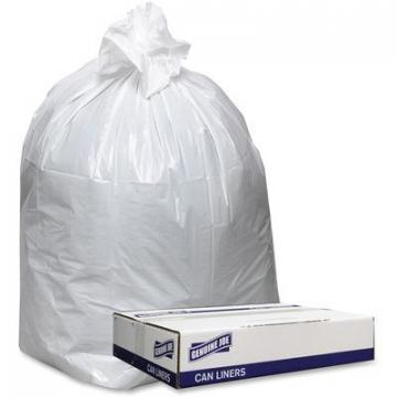 Genuine Joe 3858W Extra Heavy-duty White Trash Can Liners