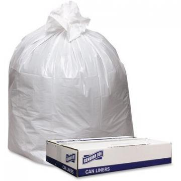 Genuine Joe 4046W Extra Heavy-duty White Trash Can Liners