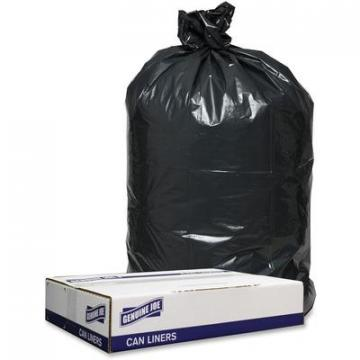 Genuine Joe 98208 1.2mil Black Trash Can Liners
