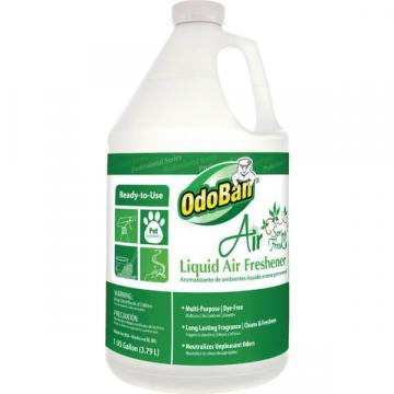 OdoBan 1 Gallon Air Freshener And Deodorizing Liquid, Spring Fresh Scent