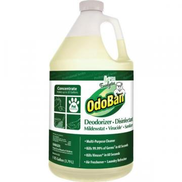 OdoBan 1 Gallon Deodorizing Disinfectant Concentrate, Eucalyptus