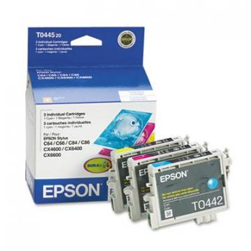 Epson T044520 Cyan; Magenta; Yellow Ink Cartridge