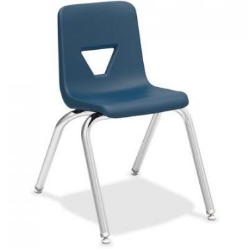 "Lorell 99887 16"" Seat-height Stacking Student Chair"