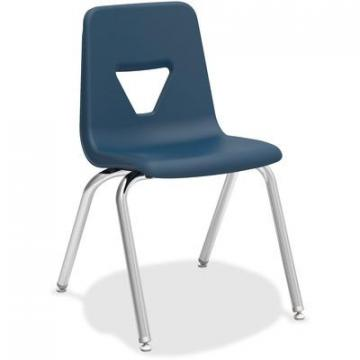 "Lorell 99890 18"" Seat-height Stacking Student Chair"