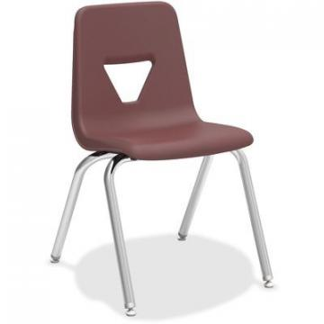 "Lorell 99892 18"" Seat-height Stacking Student Chair"