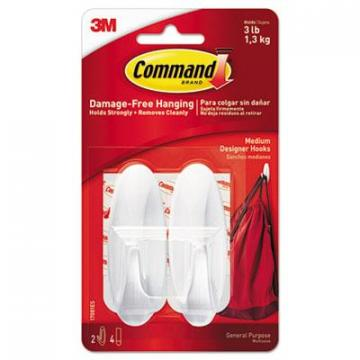 3M Command 17081ES General Purpose Hooks