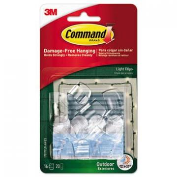 Command 17017CLRAWES All Weather Hooks and Strips