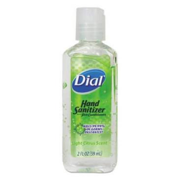 Dial 01203 Scented Antibacterial Gel Hand Sanitizer