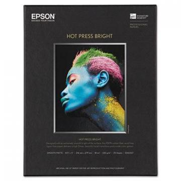 Epson S042327 Hot Press Bright Fine Art Paper