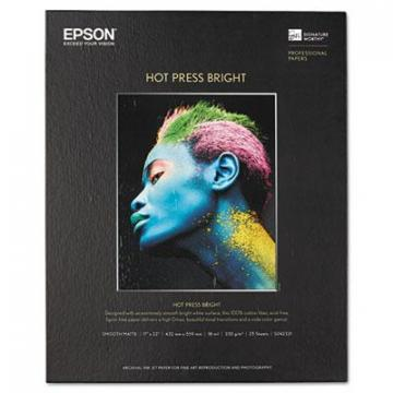 Epson S042331 Hot Press Bright Fine Art Paper
