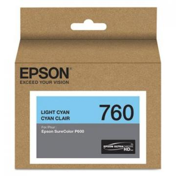 Epson T760520 Light Cyan Ink Cartridge