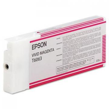 Epson T606300 Vivid Magenta Ink Cartridge