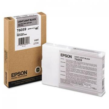 Epson T605900 Light Light Black Ink Cartridge