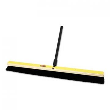 Rubbermaid 9B13BLACT Commercial Tampico-Bristle Medium Floor Sweep