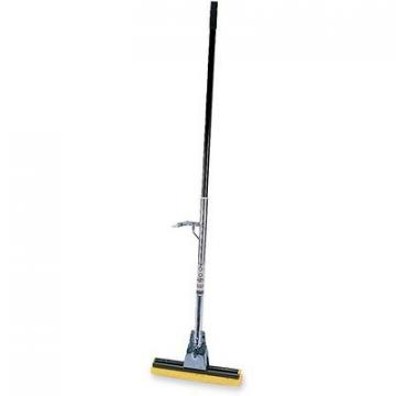 "Rubbermaid 6435BZECT 12"" Head Steel Sponge Mop"