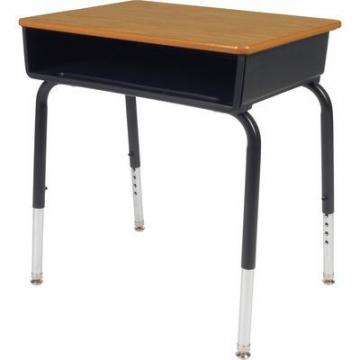 Lorell 99893 Book Box Student Desk