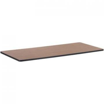 Lorell 99896 Medium Oak Laminate Rectangular Activity Tabletop