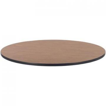 Lorell 99897 Medium Oak Laminate Round Activity Tabletop