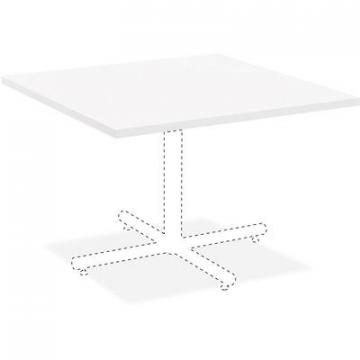 Lorell 99859 Hospitality White Laminate Square Tabletop
