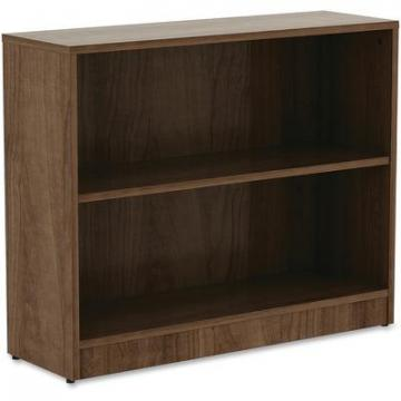 Lorell 99780 Walnut Laminate Bookcase