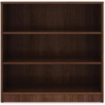 Lorell 99783 Walnut Laminate Bookcase