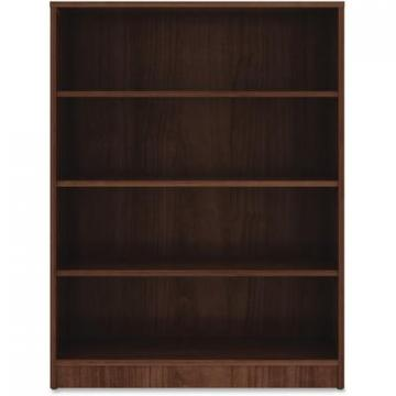 Lorell 99786 Walnut Laminate Bookcase