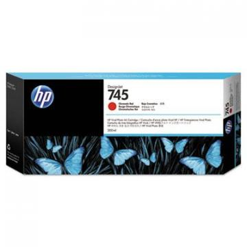 HP F9K06A Chromatic Red Ink Cartridge
