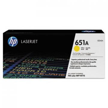 HP CE342AG Yellow Toner Cartridge