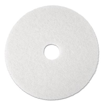 3M 08477 White Super Polish Floor Pads 4100